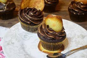 Dulcerías con sorpresa, colorea de dulce tu vida: Cupcakes de chocolate y naranja al cointreau