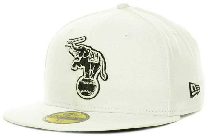sale retailer 7c2be cadcb ... promo code for new era oakland athletics mlb white and black 59fifty cap  67a19 e4832