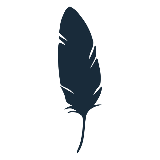 Bird Down Feather Silhouette Transparent Png Svg Vector Feather Illustration Owl Silhouette Silhouette Images