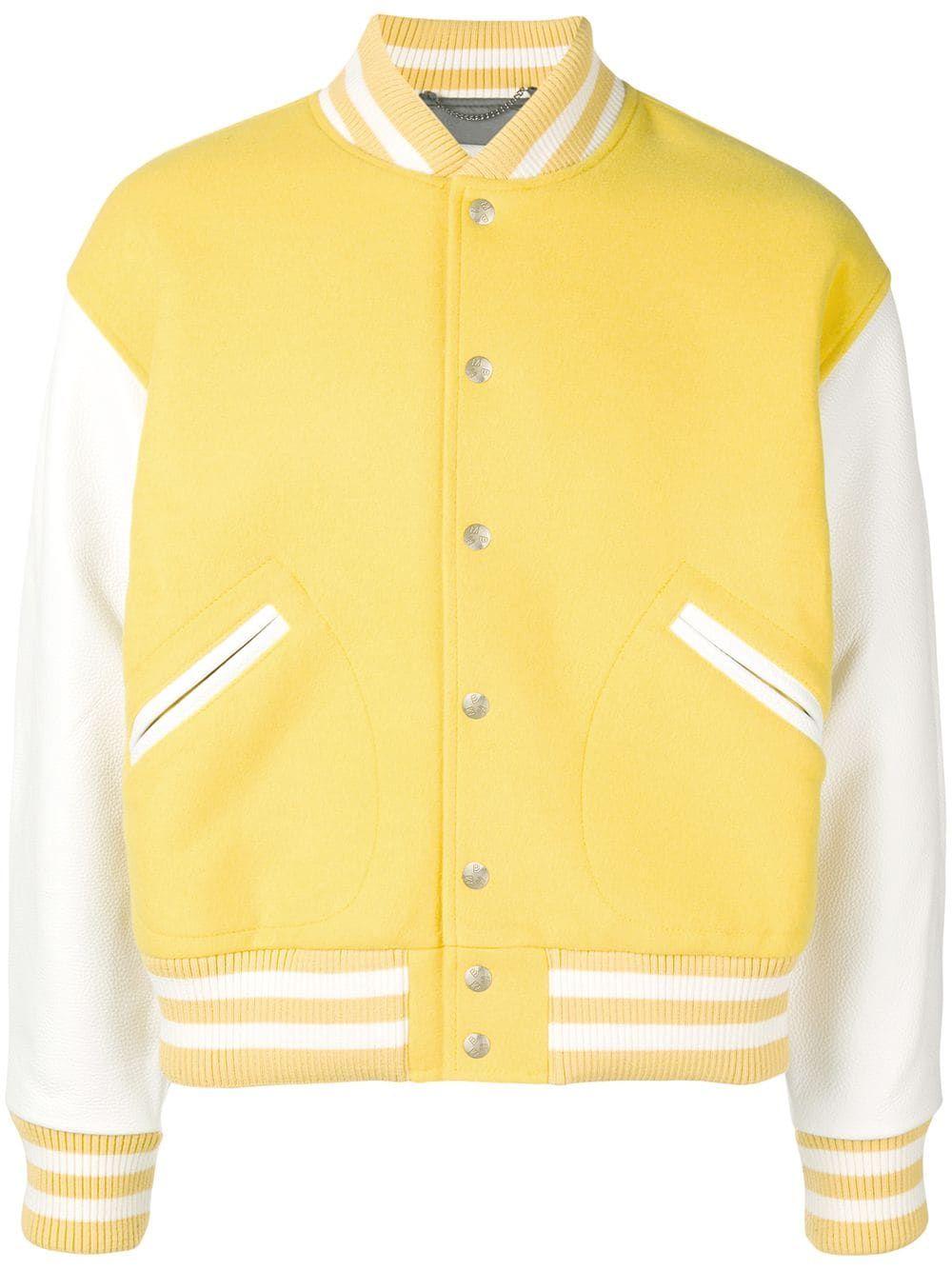 MISBHV Contrast Sleeve Varsity Jacket - Farfetch