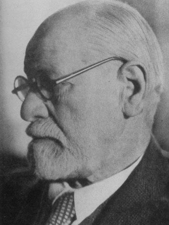 Sigmund Freud Founder Of Psychoanalysis Two Years Before He Emigrated To England Premium Fotografisk Trykk Trykk