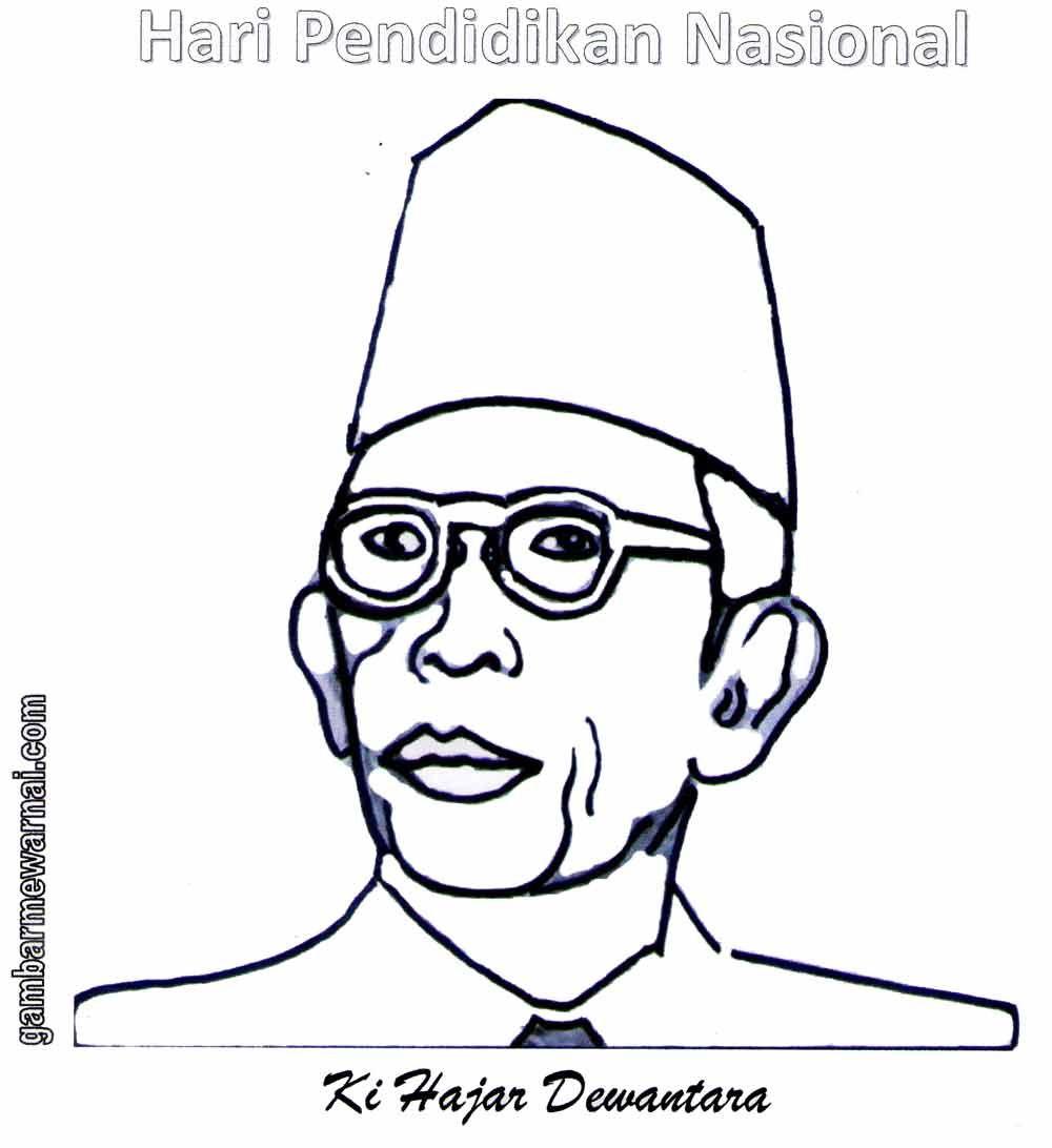 Gambar Pahlawan Nasional Animasi