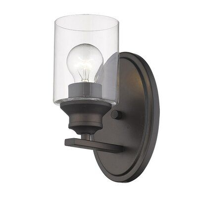 Breakwater Bay Holbrook 1 Light Armed Sconce Finish Oil Rubbed