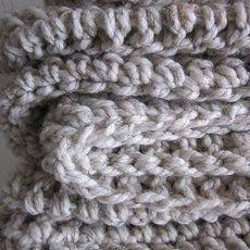 Chunky #crochet blankets from Peanut Tree Designs