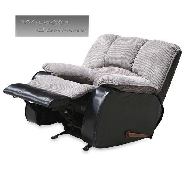 Recliner  sc 1 st  Pinterest & New Grey Recliner Lazy Reclining Chair Furniture Barcalounger Gray ... islam-shia.org