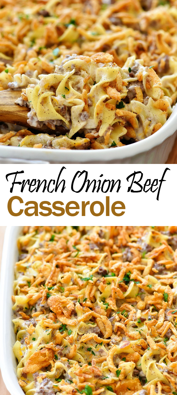 French Onion Beef Casserole Delicious Recipes Casserole Recipesfordinner Beef Casserole Recipes Easy Casserole Recipes Recipes