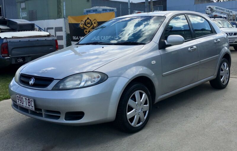 2006 Holden Viva Rwc July Rego New Tyres Cheap Used Cars