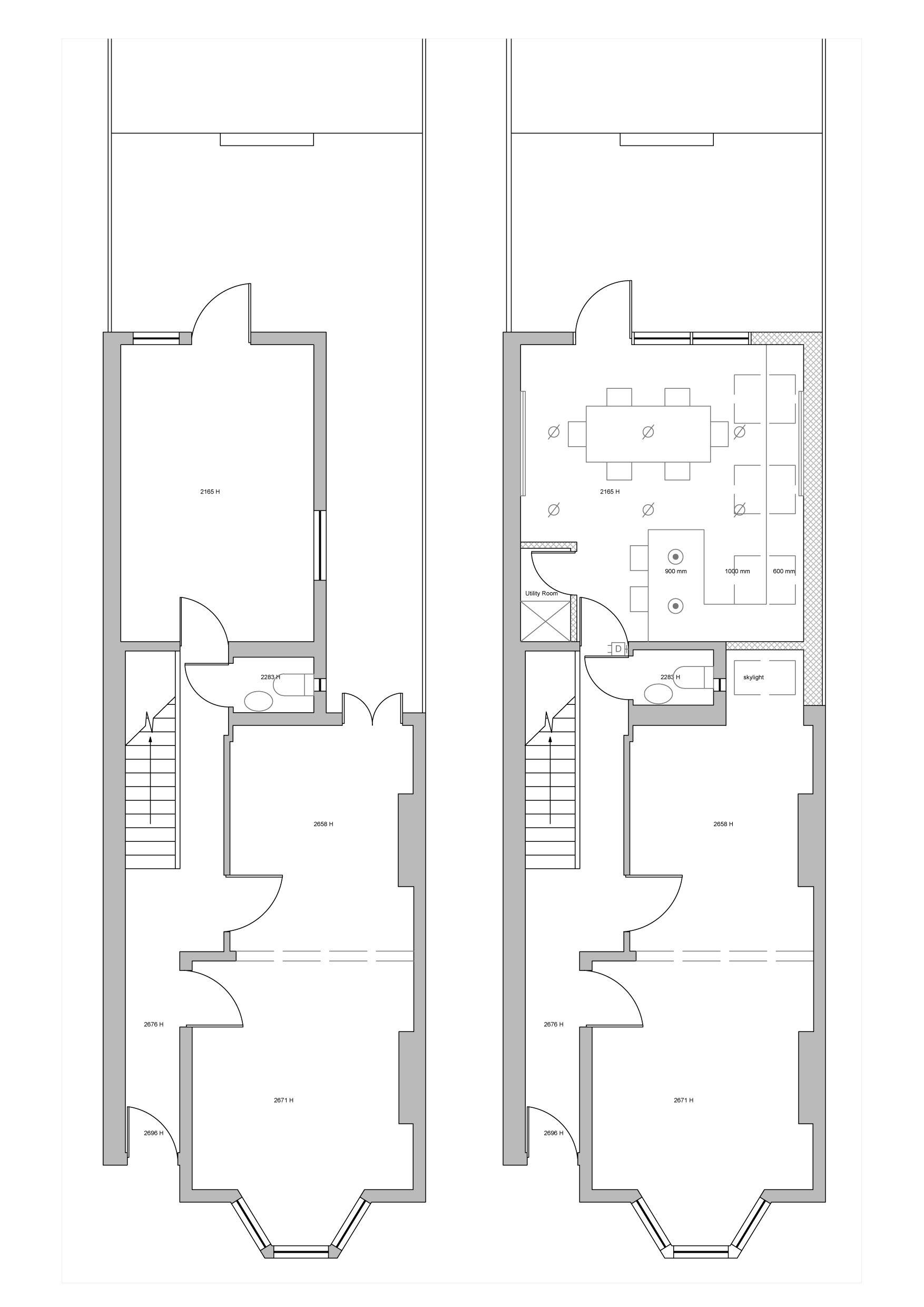 Victorian Terrace Extension Planning Application Google