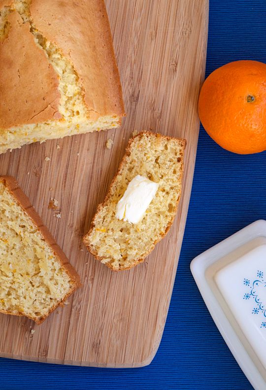 The Best Orange Bread You'll Ever Have
