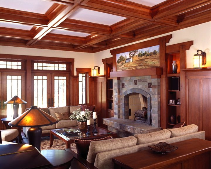 Marvelous Craftsman Living Room