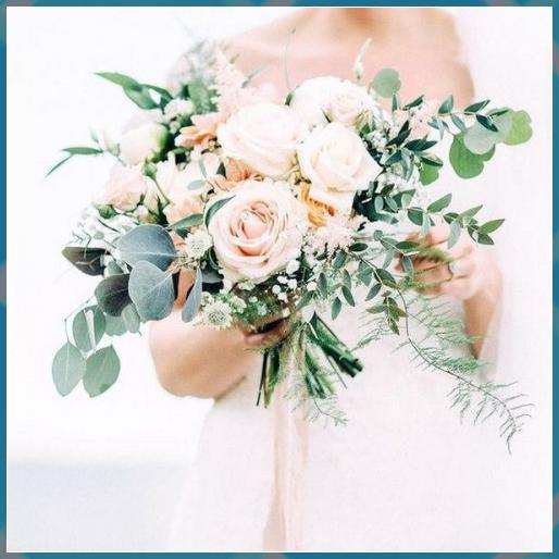 # blush # garden # wedding bouquet # ideas # motto # pink -…