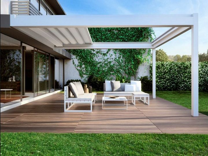 copertura terrazza alluminio - Cerca con Google | Wang\'s Exterior ...