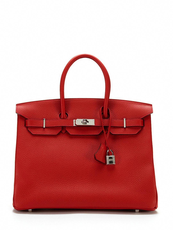 33f6981d052d Fiery!!! Rouge Casaque Togo Birkin 35cm by Hermès  Hermeshandbags ...