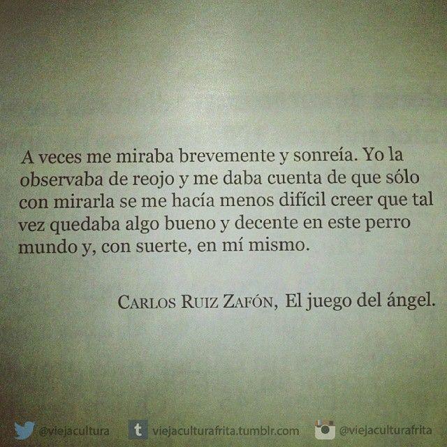 Pin De Gaby En Poesia Carlos Ruiz Zafon Frases Citas De