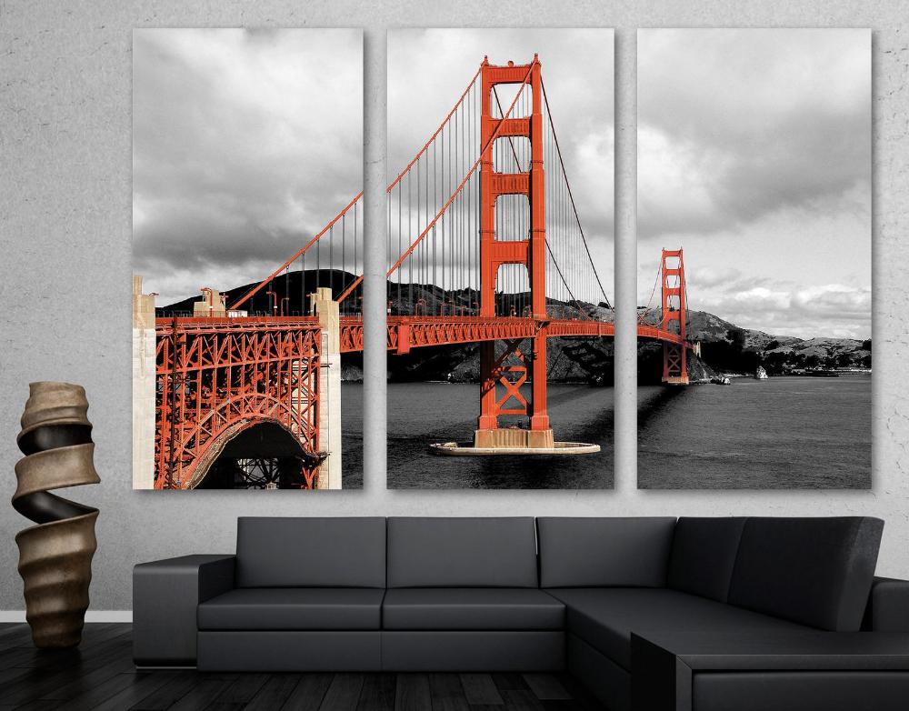 Sf Golden Gate Bridge Canvas Print Wall Art Sf Bridge Print Etsy In 2020 Canvas Print Wall Golden Gate Bridge Canvas Golden Gate Bridge Wall Art