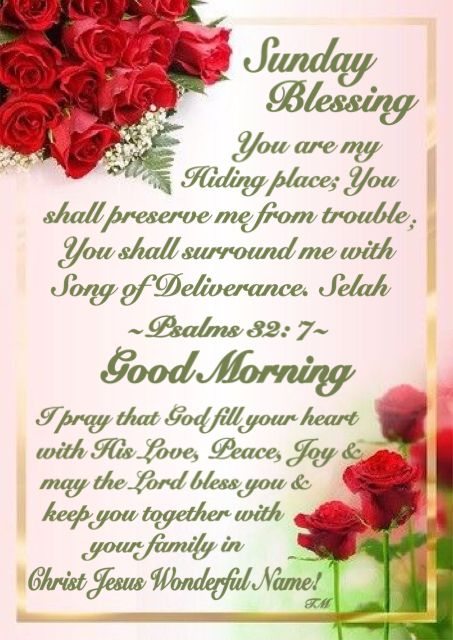 Prayers And Good Sunday Blessings Morning