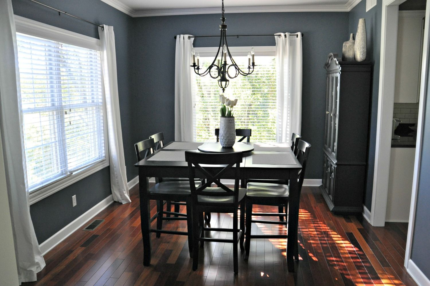Smoky Blue By Sherwin Williams Decor And The Dog Paint