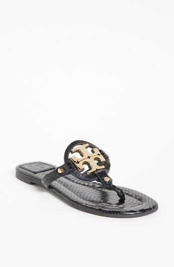 1ff47cdebcb49 That symbol. That sandal. Tory Burch  Miller 2  Sandal available at ...