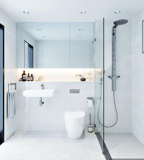 Cuartos de baño estilo minimalista, es tendencia de ...
