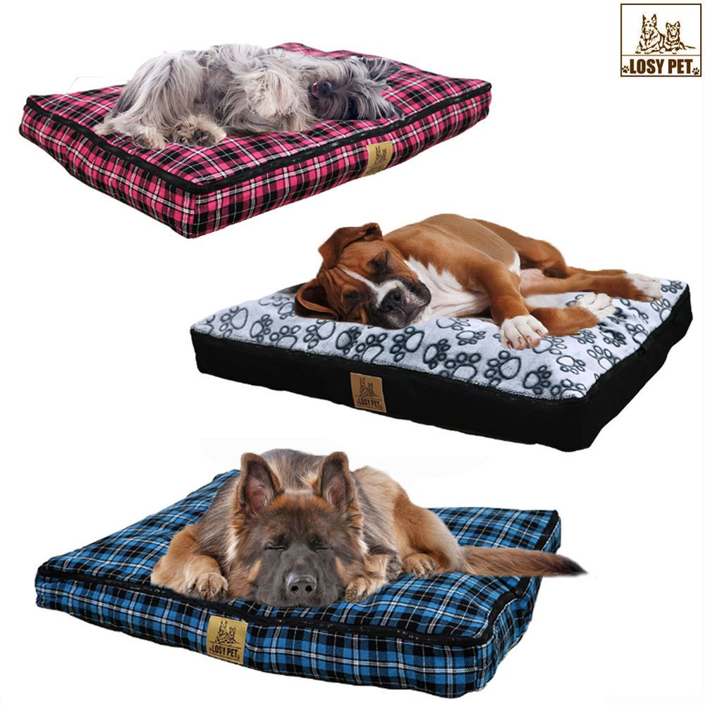 Details about Extra Large Waterproof Pet Bed Mattress Soft