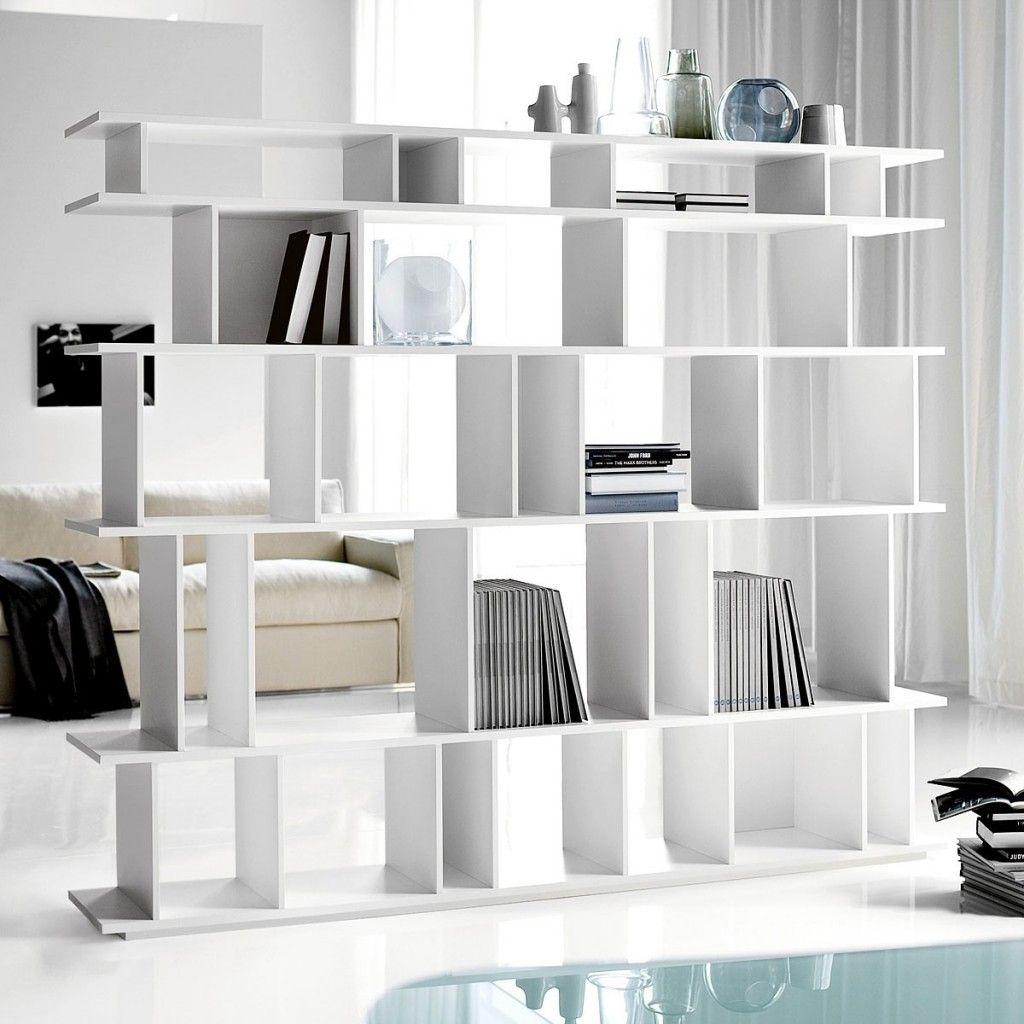 Room Divider Furniture Beauty White Bookshelf