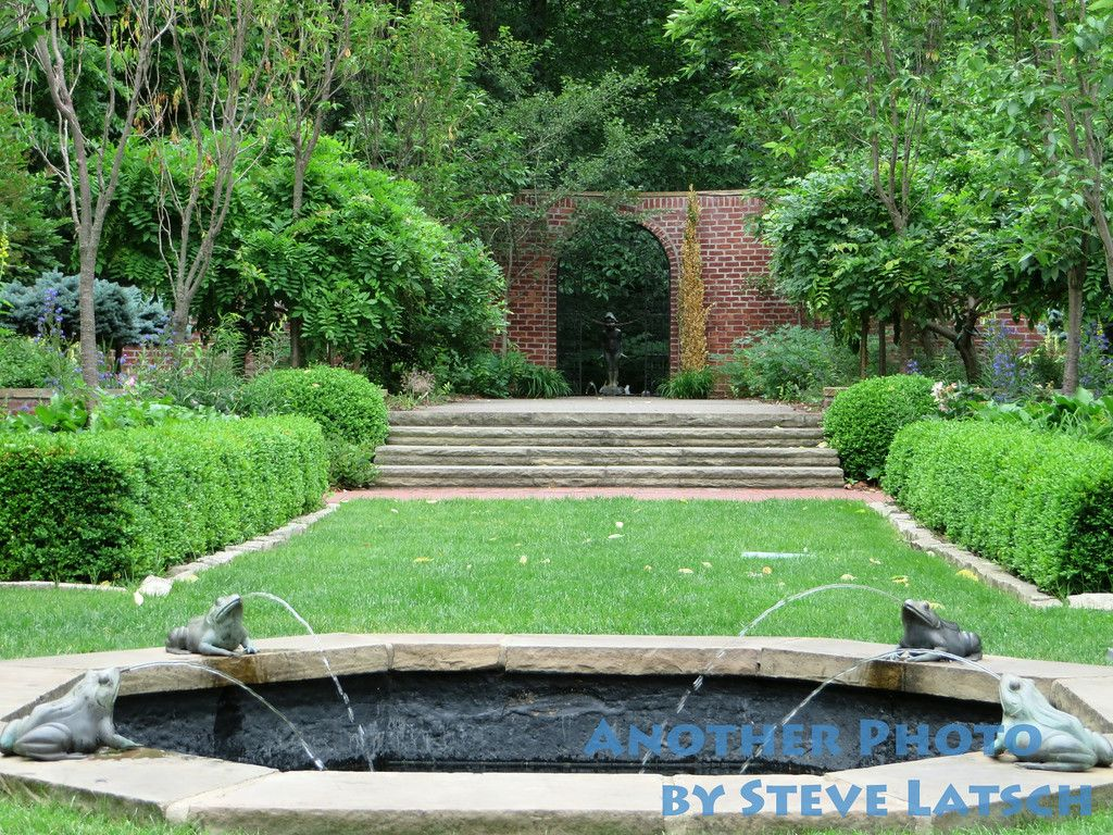 Manor House Garden In Late Spring Ponds Backyard Pond Fountains Wildwood