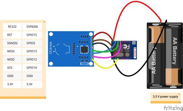 WiFi RFID Reader   arduino   Arduino wifi, Wifi, Arduino