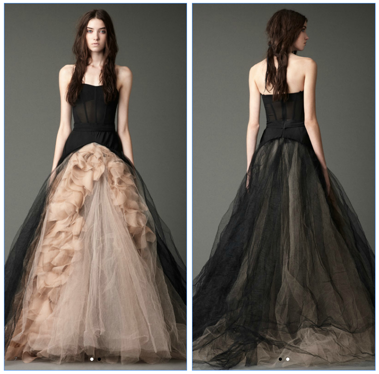 Vera Wang. Fall 2012 Collection. #wedding #gown