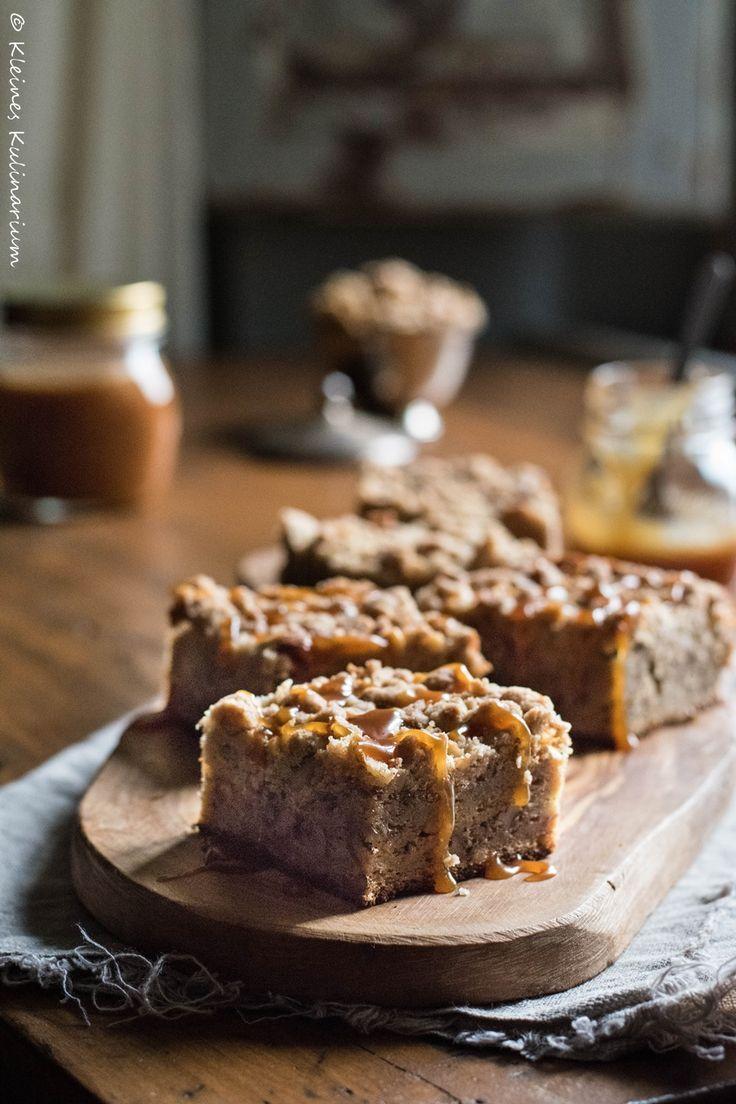 Bananen Walnuss Kuchen Mit Streuseln Kuchen Pies Und Tartes Aus