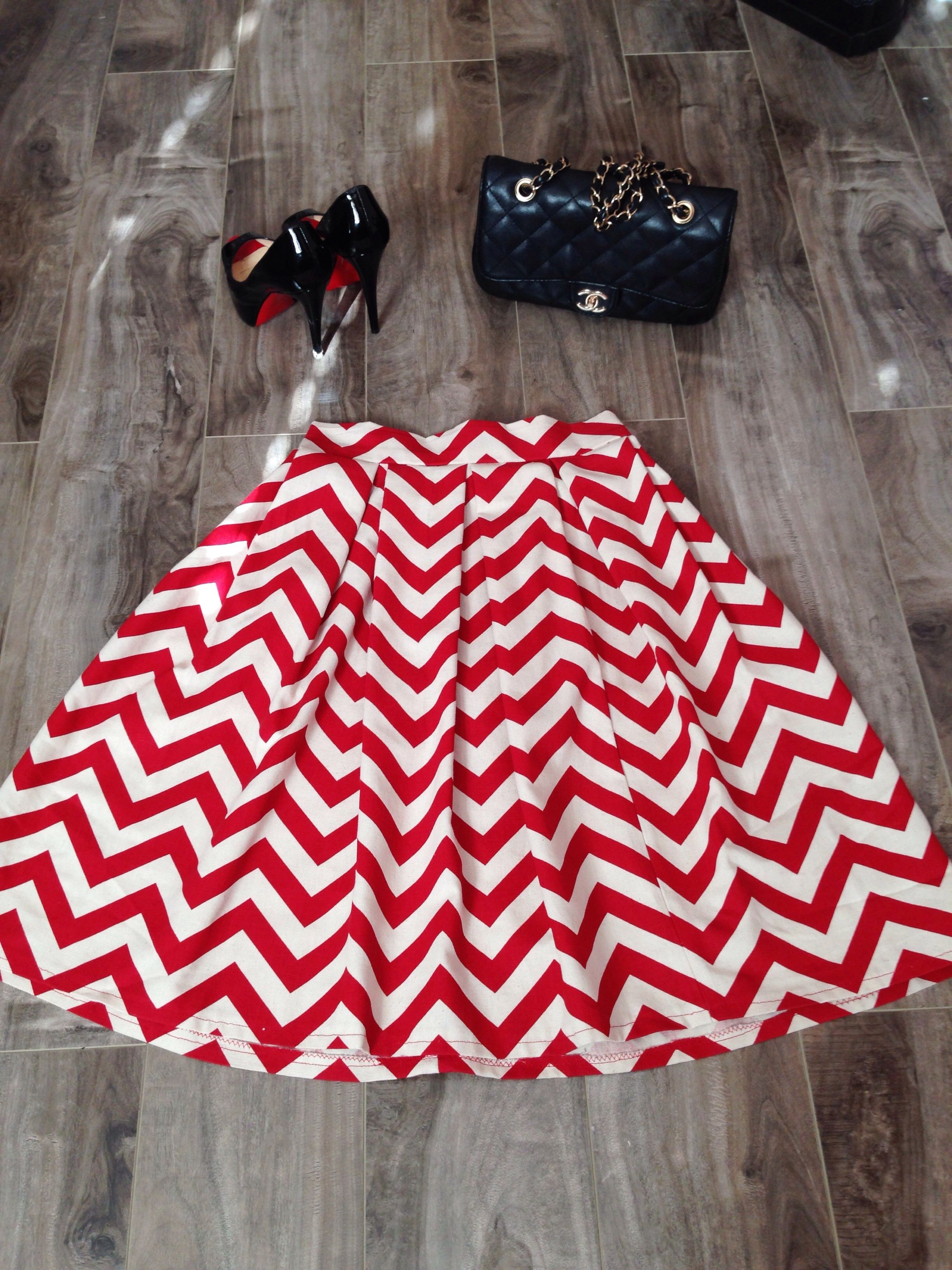 We are so excited to launch our own ModestlyHot clothing line of skirts! The A-line shape and pleats makes this skirt timeless and classic! Handmade from great quality fabric!   *Please Refer to the Sizing Guide Below before placing order, these skirts are final sale*  Size Small: 24'' Small ...