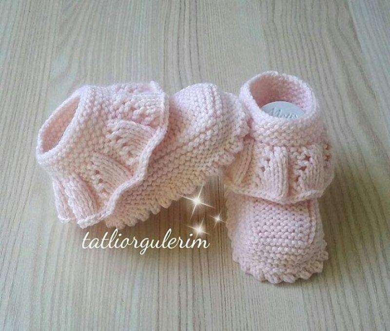 Hayran Kalacağınız 35 Muhteşem Bebek Giyim Örgü Modelleri