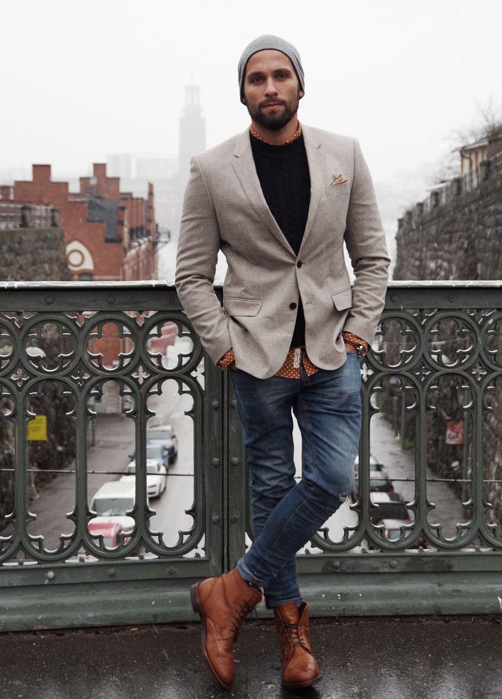 Street men European fashion pictures video