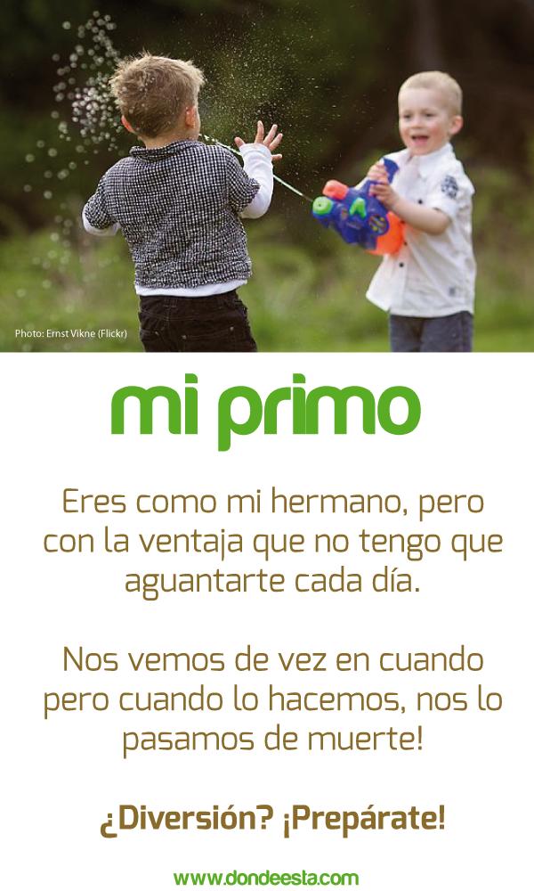 Te Quiero Primo15 De Mayo Día Internacional De La Familia