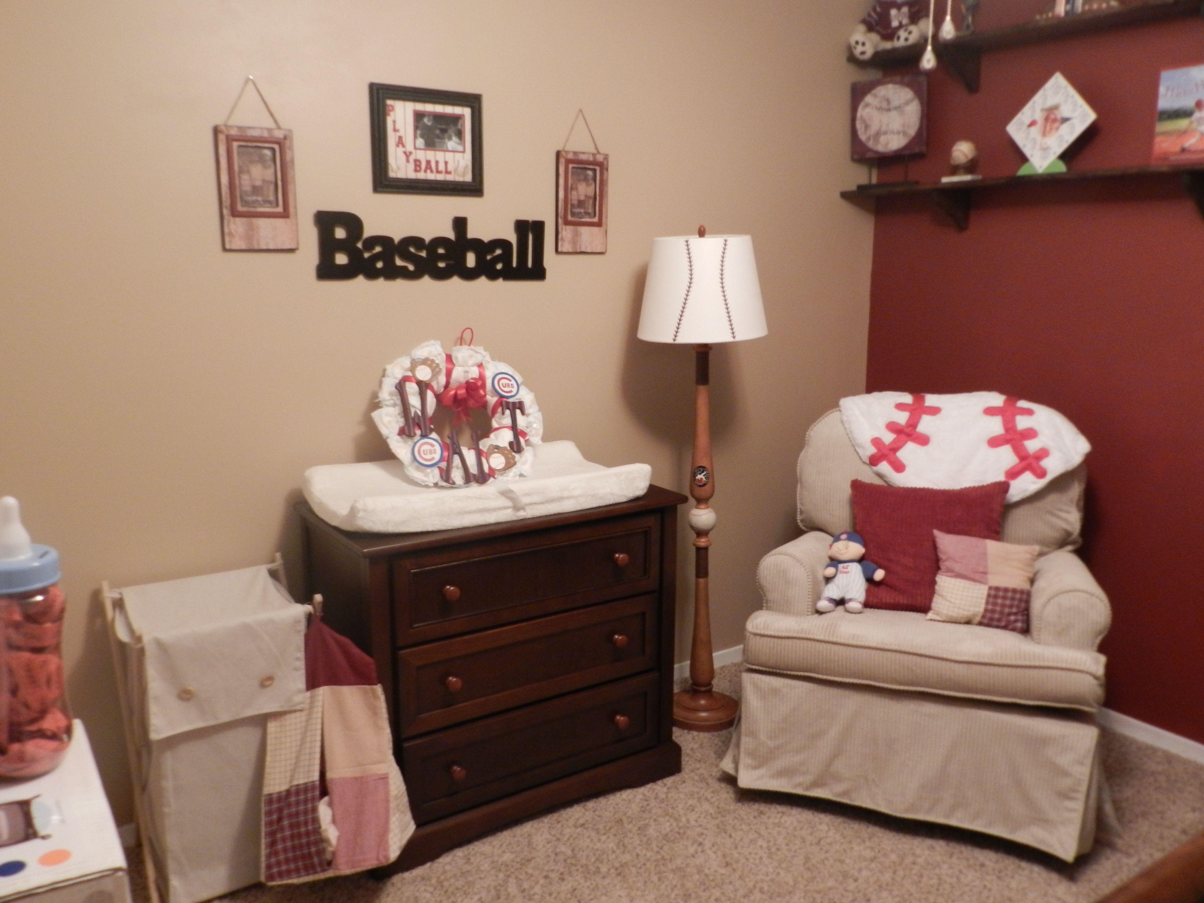 My Baby Boy S Nursery Vintage Baseball Nursery Ideas