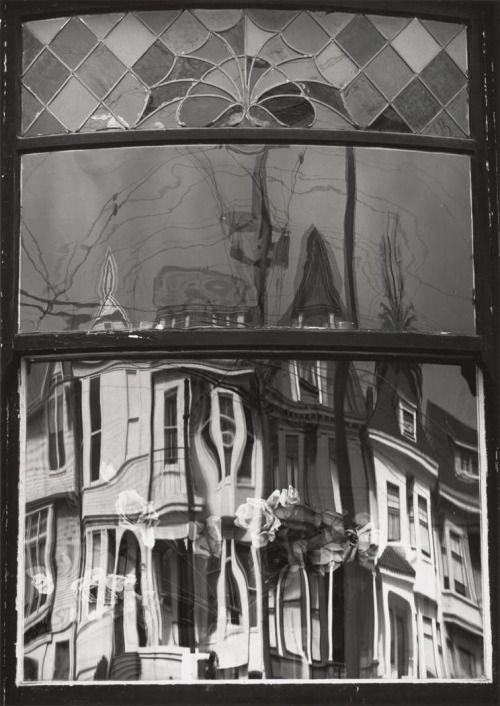 Donald ROSS :: Reflections in Window, San Francisco, 1965