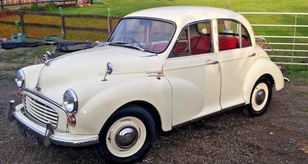 eBay: 1960 Morris Minor 1000 in good condition lots of history + money spent - BARGAIN
