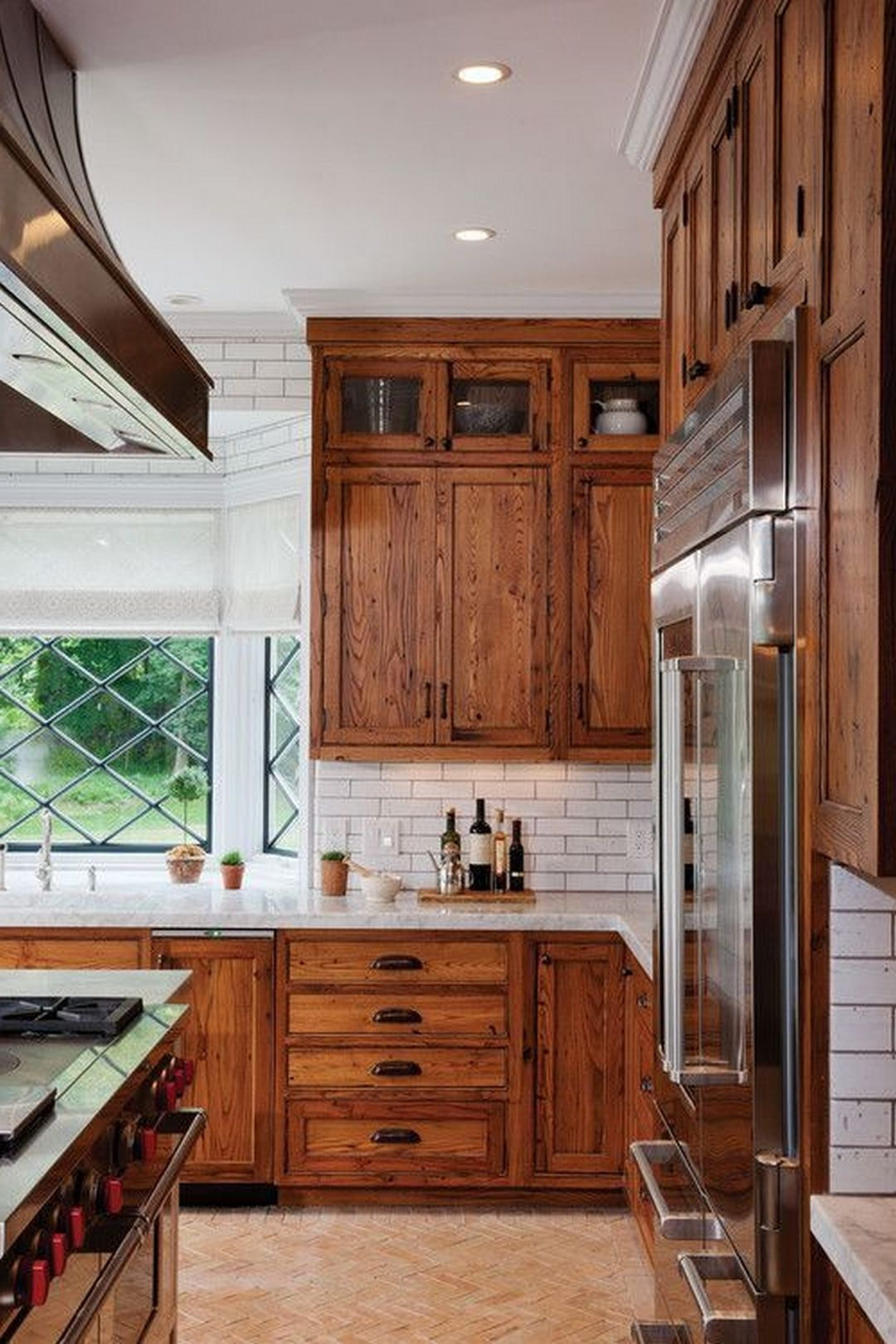 Marvelous 45+ Stunning & Wonderful Farmhouse Kitchen Wood