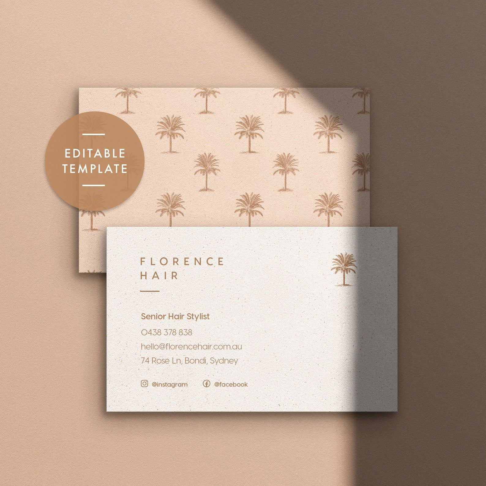 Printable Business Stationery Business Card Template Etsy Stationery Business Card Business Stationery Professional Business Card Design