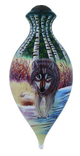 Ne'Qwa North American Wolf Ornament
