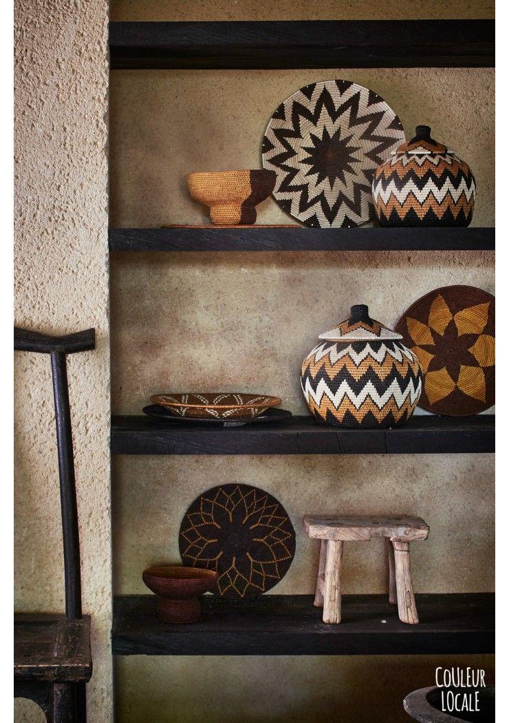 Swaziland Sisal Baskets African home decor, African