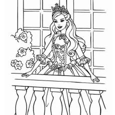 Top 50 Free Printable Barbie Coloring Pages Online With Images
