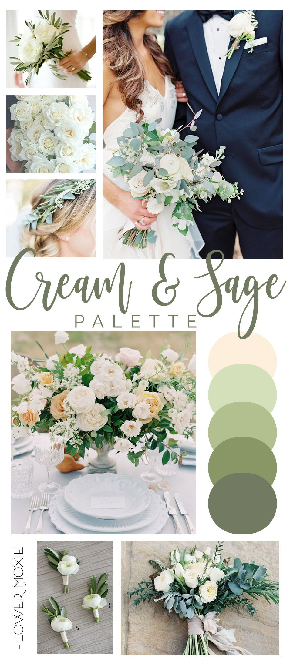 Get Inspired By Our Wedding Flower Packages Mix Match Flowers To Achieve The Look You Want Or Let U Wedding Flower Packages Sage Wedding Diy Wedding Flowers