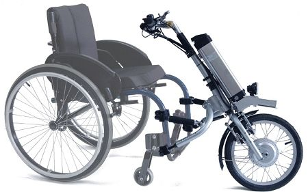 Firefly™ Electric Handcycle at IndeMedical.com