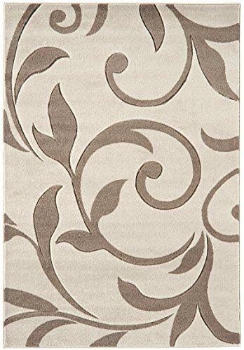 Teppich Wohnzimmer Carpet Modernes Design Voque Ornament Rug 100 Polypropylene 200x290 Cm Rechteckig Beige Teppich Günstig Teppich Beige Teppich Wohnzimmer