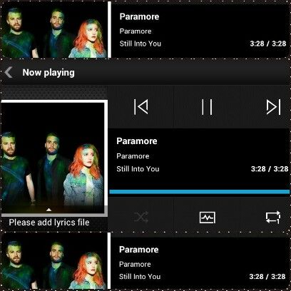 Paramore-Still Into You #nowplaying