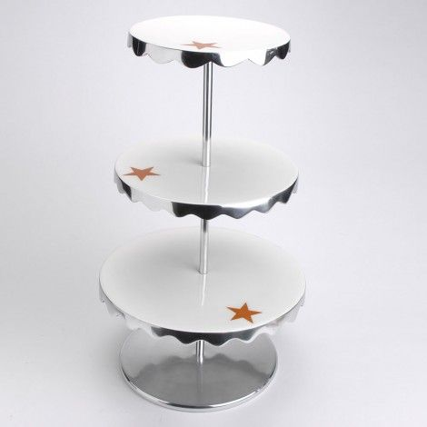 3 Tier Serving Plate with Stars available on Wysada.com