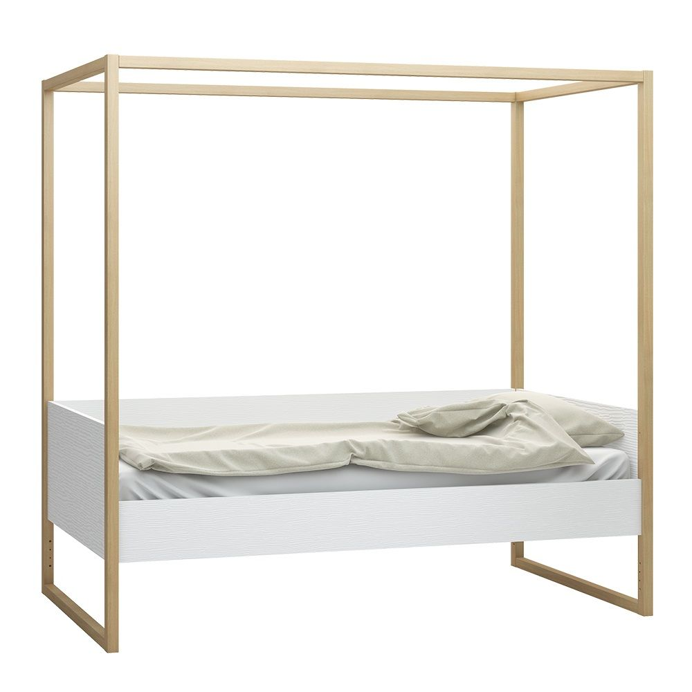 Single Four Poster Bed Vox 4 You 4 Poster Single Bed With Adjustable Height Levels In