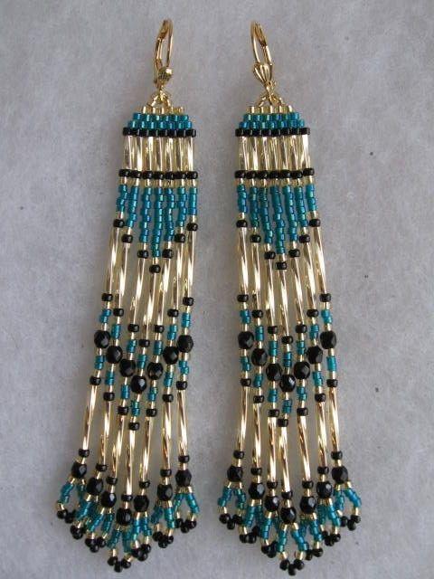 Bugle Beads Beaded Earrings Patterns Bracelet Seed Bead Jewelry