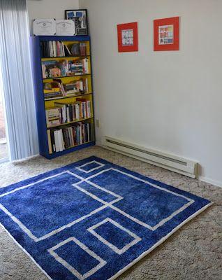 You can dye carpet! I have a shag rug in my livingroom I ...