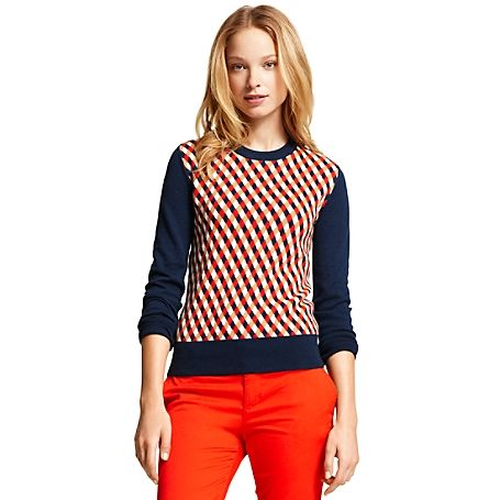 Tommy Hilfiger women#39;s sweater. The argyle sweater has never ...
